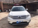 抵押车出售12年丰田汉兰达(进口)中型车