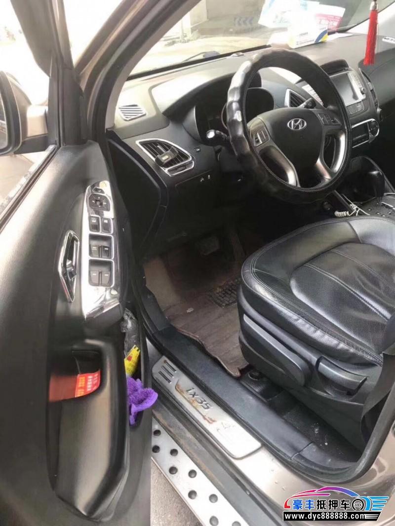 12年现代ix35SUV抵押车出售