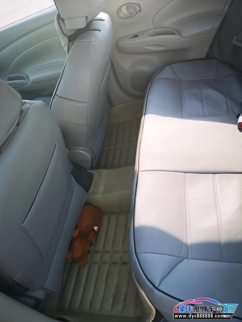 14年日产阳光微型车抵押车出售
