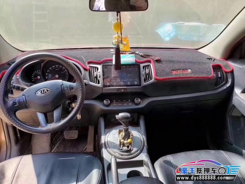 12年起亚智跑SUV抵押车出售