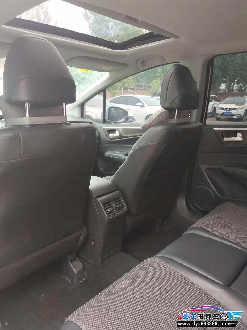 抵押车出售18年本田杰德SUV