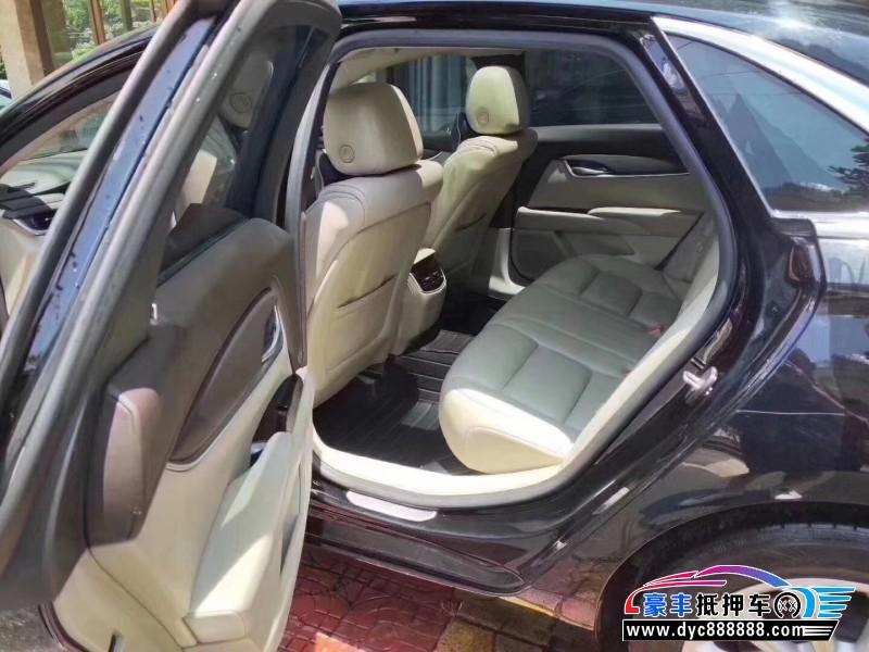 抵押车出售17年凯迪拉克XTS轿车