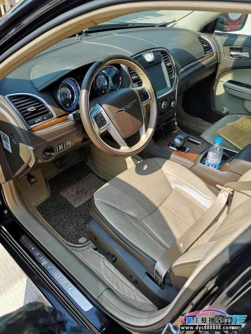 16年克莱斯勒300C轿车抵押车出售