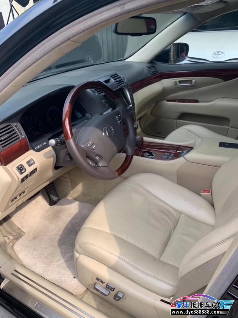 08年雷克萨斯ES轿车抵押车出售