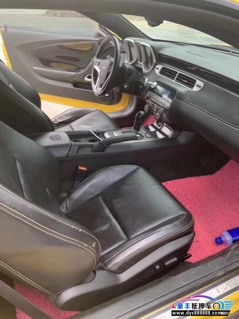 14年雪佛兰科迈罗轿车抵押车出售