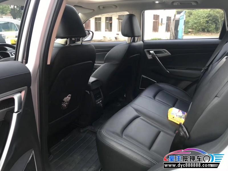 17年吉利博瑞SUV抵押车出售