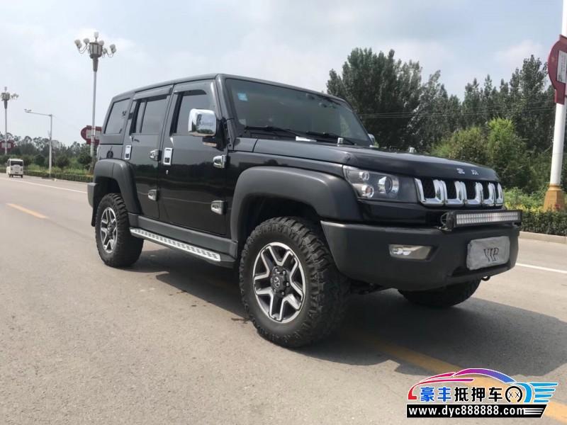 抵押车出售17年北京BJ40SUV