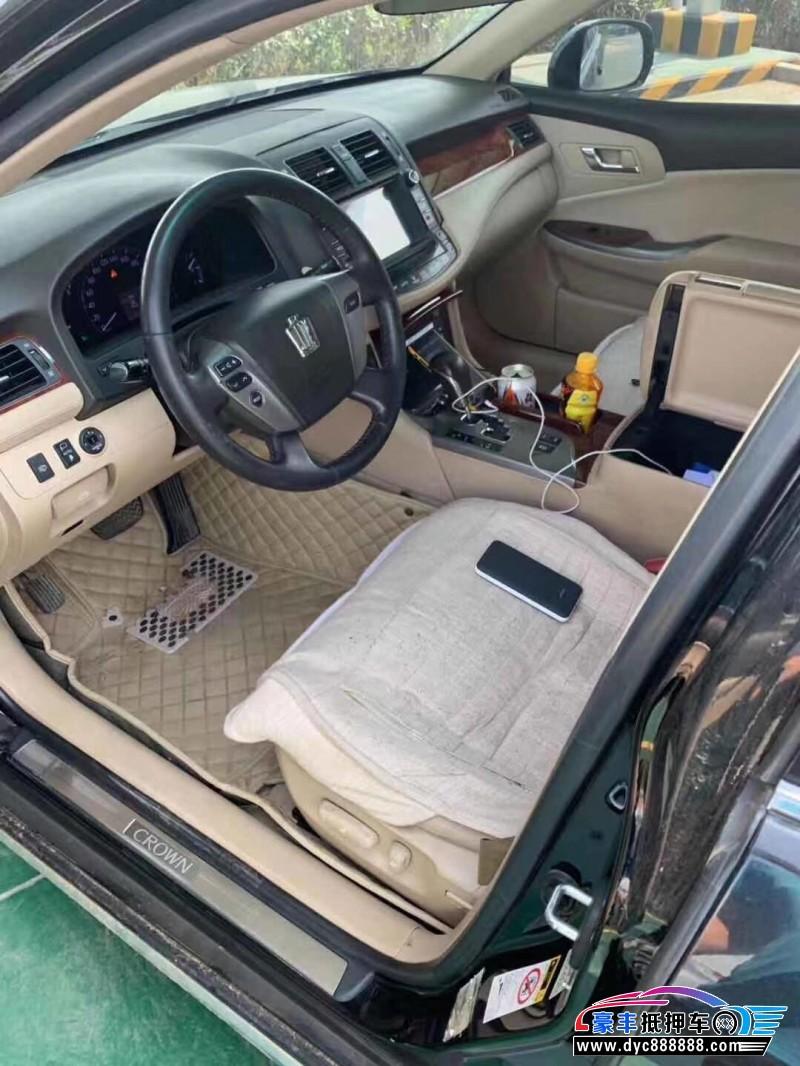 14年丰田皇冠轿车抵押车出售