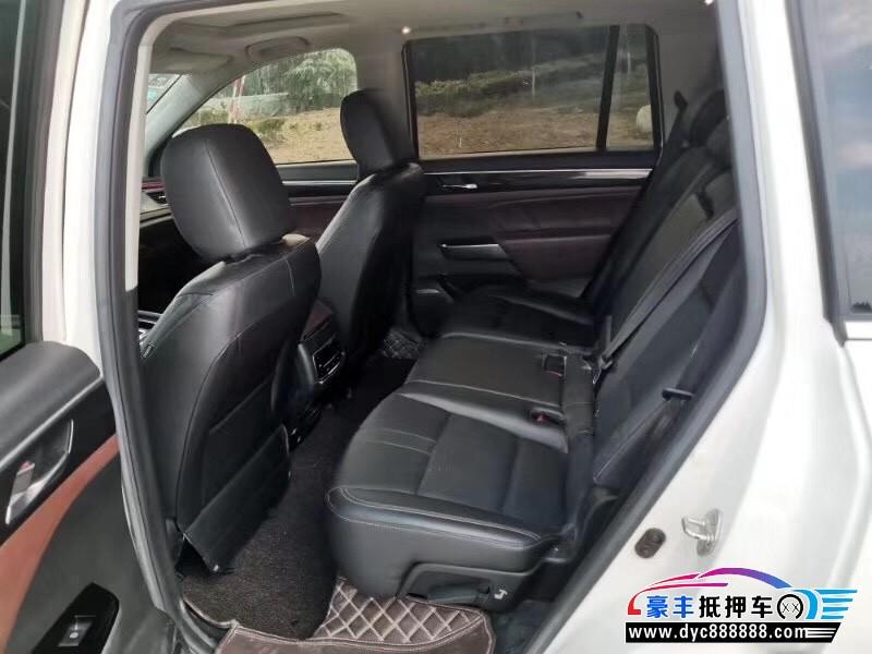 抵押车出售17年广汽传祺GS8SUV