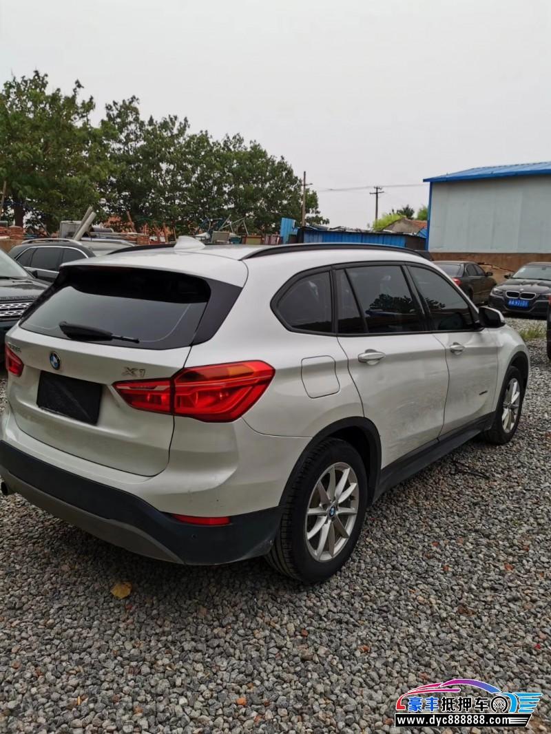 16年宝马X1SUV抵押车出售