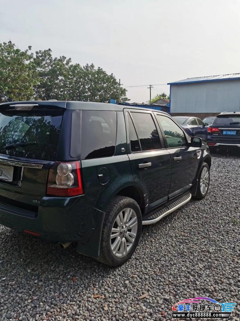 抵押车出售12年路虎神行者SUV