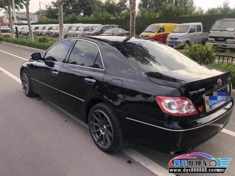 09年丰田锐志轿车抵押车出售