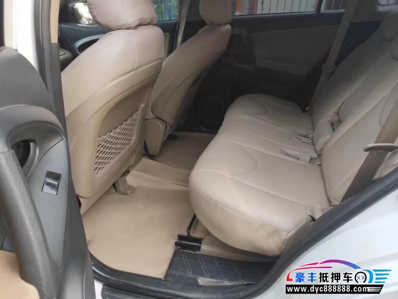 13年丰田RAV4SUV抵押车出售