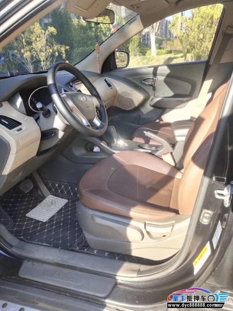 10年现代ix35SUV抵押车出售