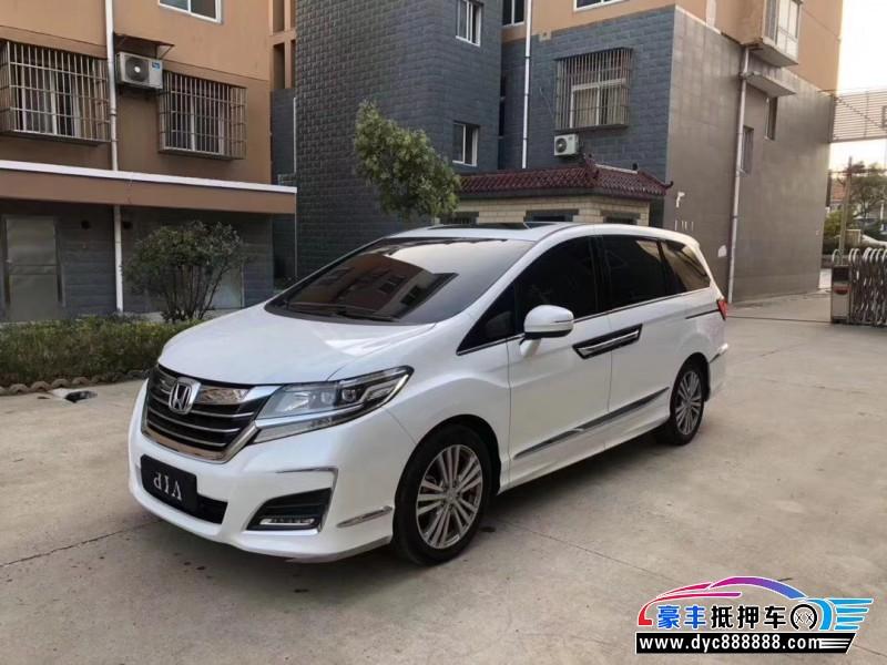 19年本田艾力绅MPV抵押车出售