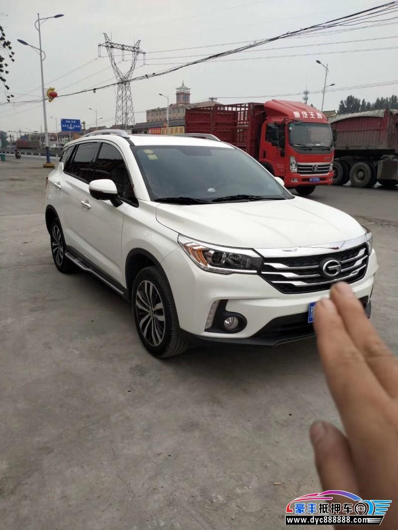 抵押车出售18年广汽传祺GS4SUV