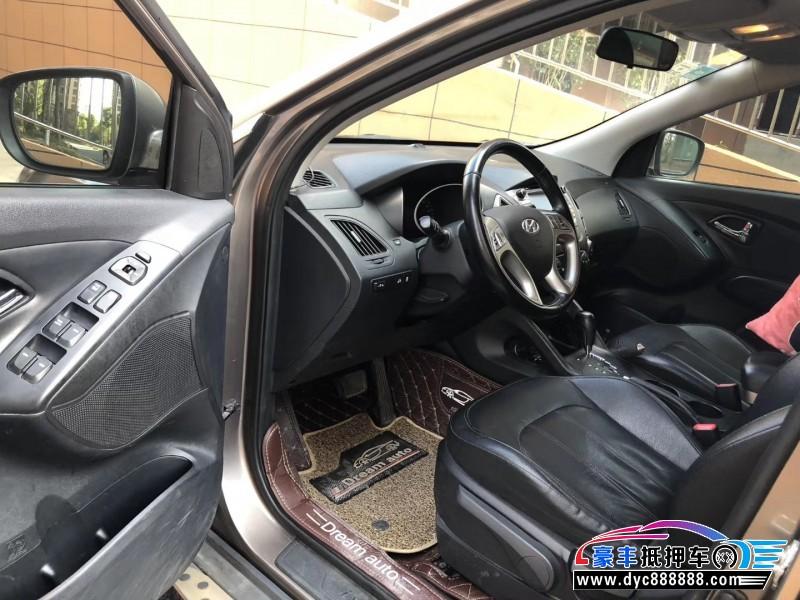 14年现代ix35SUV抵押车出售