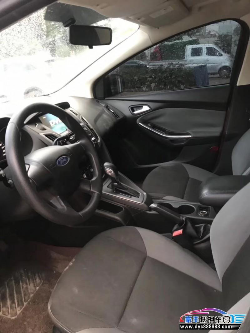 抵押车出售12年福特福克斯轿车