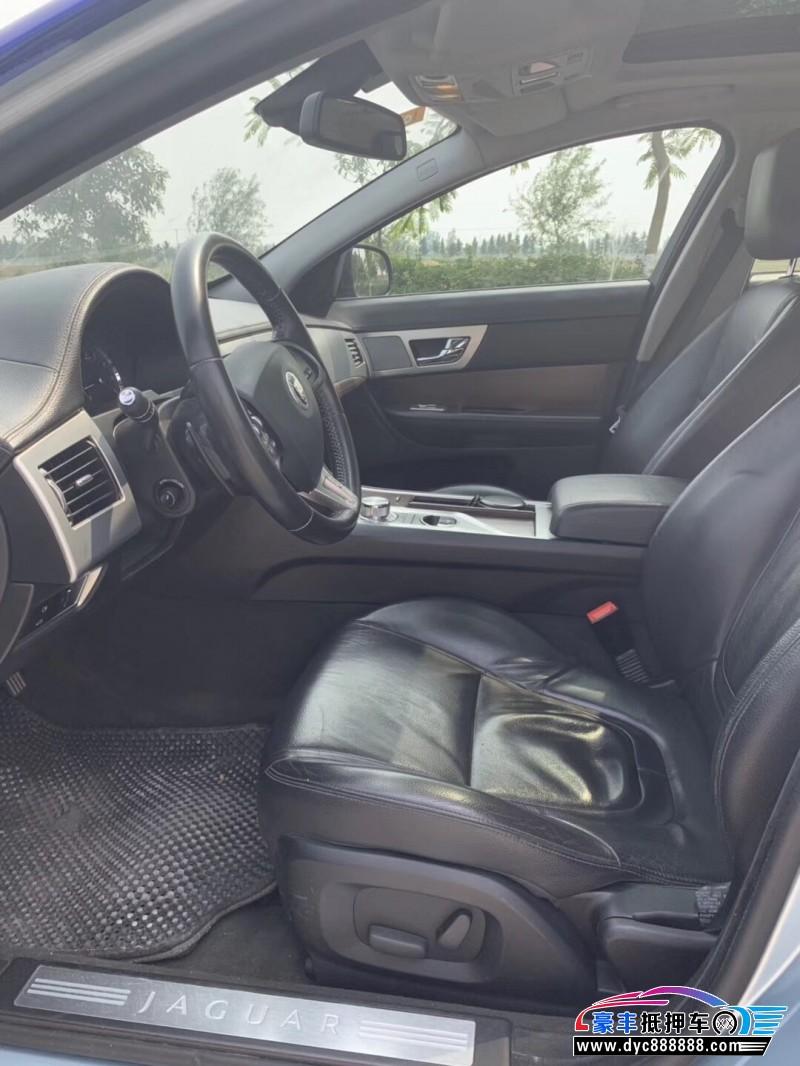 14年捷豹XF轿车抵押车出售