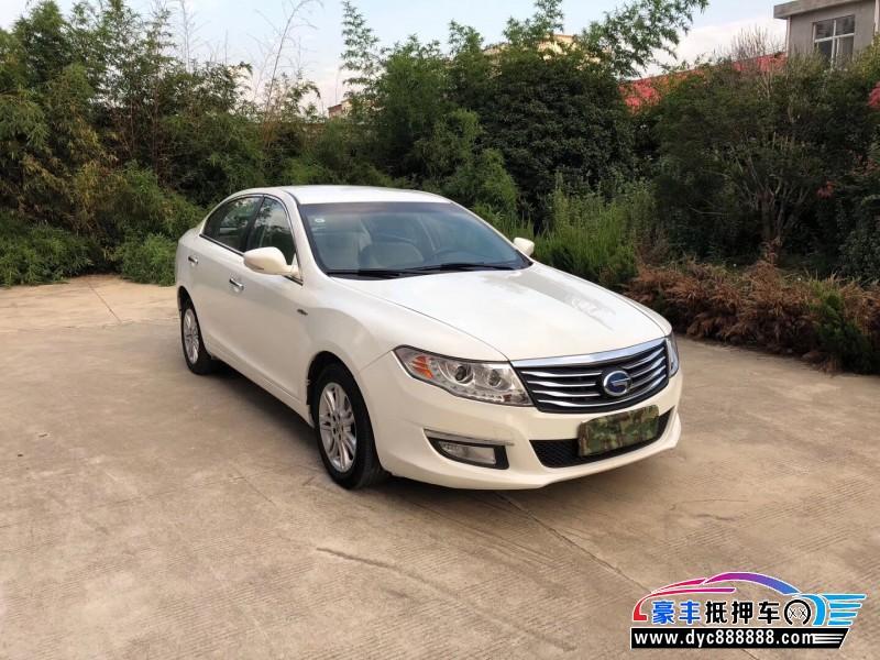 抵押车出售17年广汽传祺GA5新能源轿车