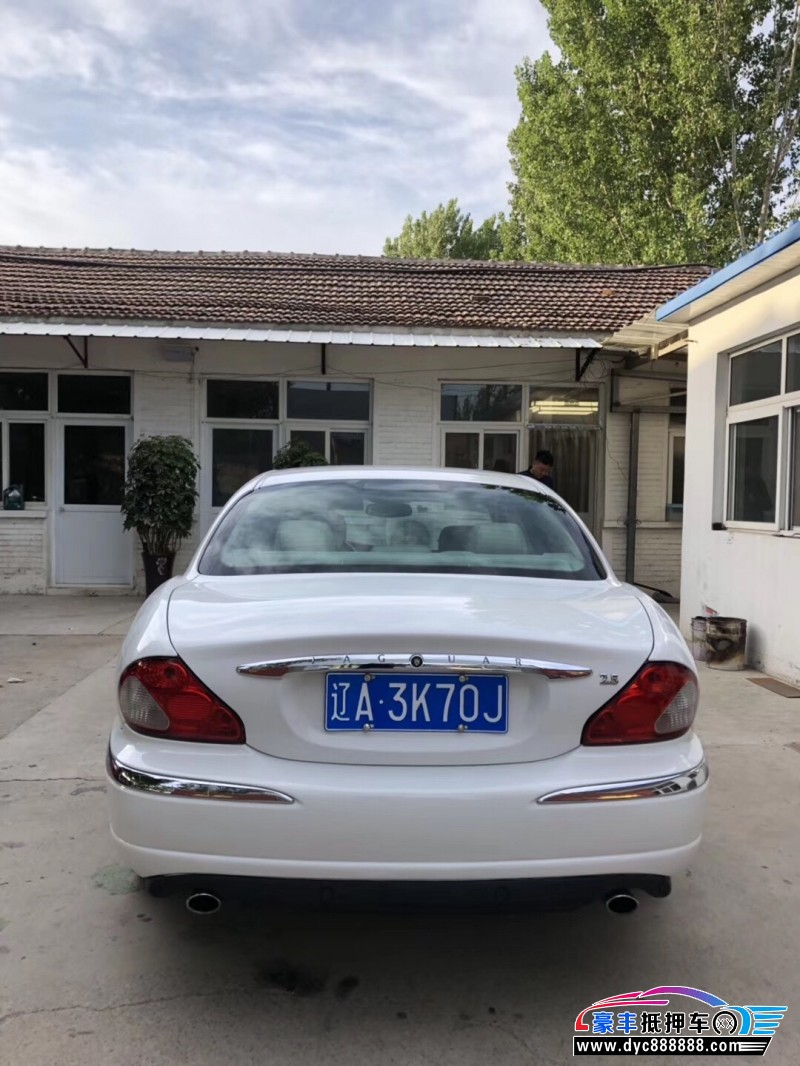 02年捷豹XF轿车抵押车出售