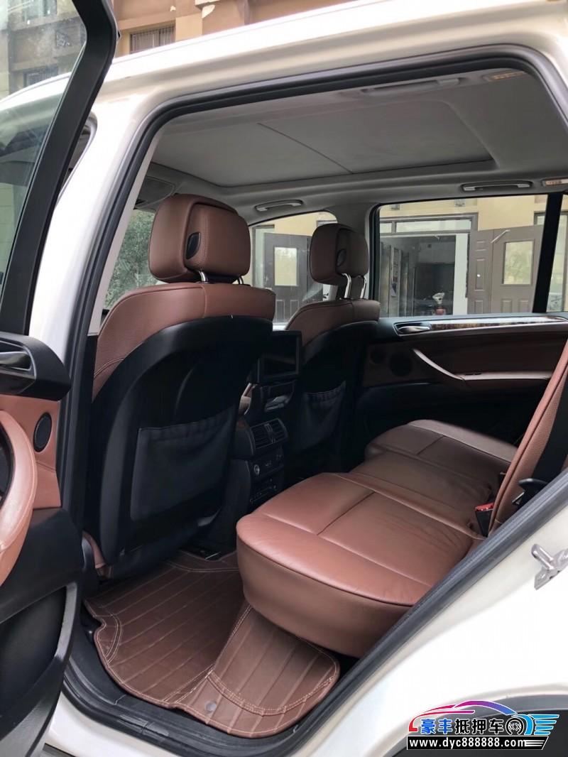 12年宝马X5SUV抵押车出售