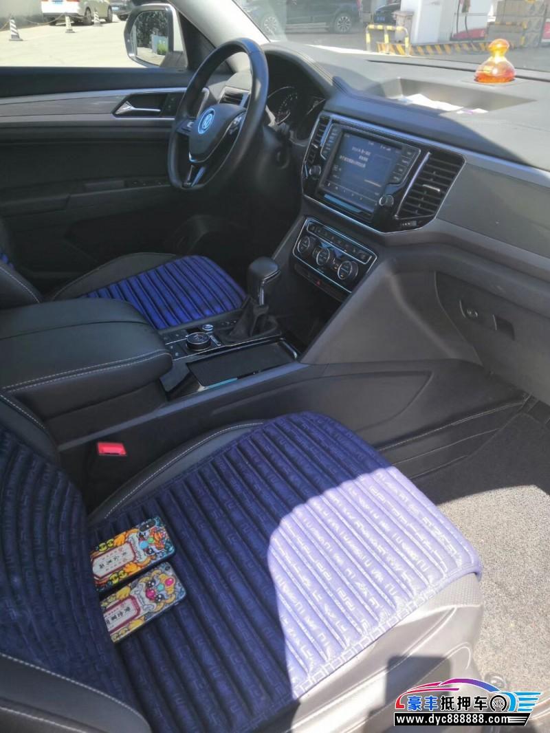 17年大众途昂SUV抵押车出售