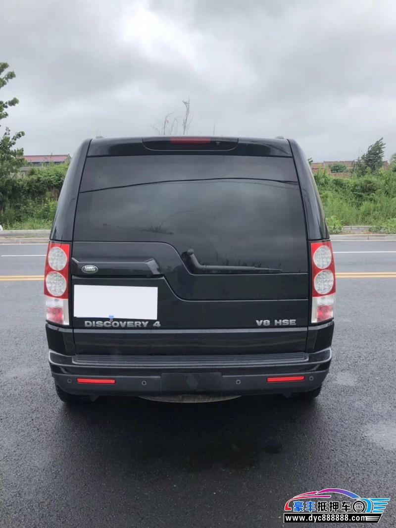 12年路虎发现4SUV抵押车出售