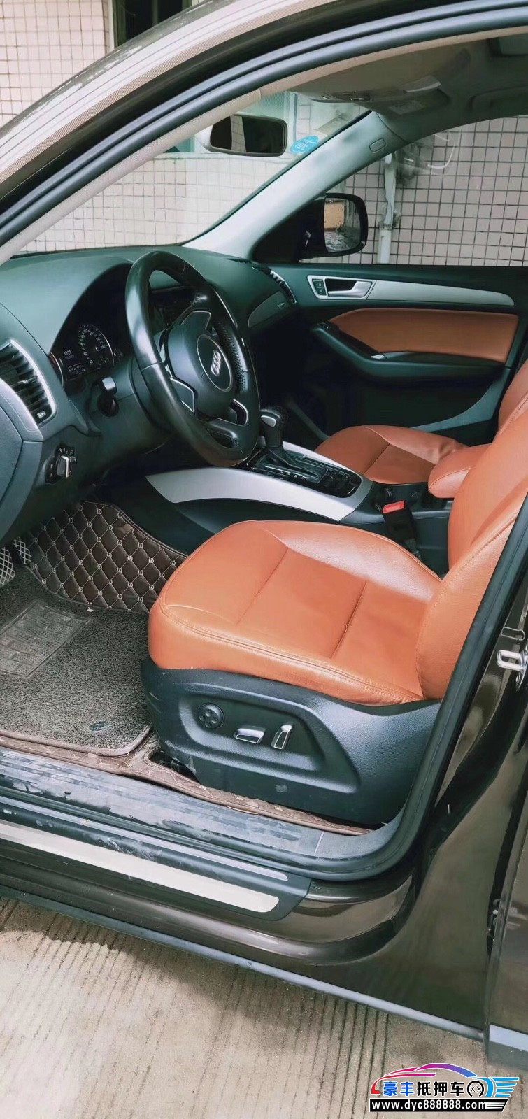 抵押车出售15年奥迪Q5轿车