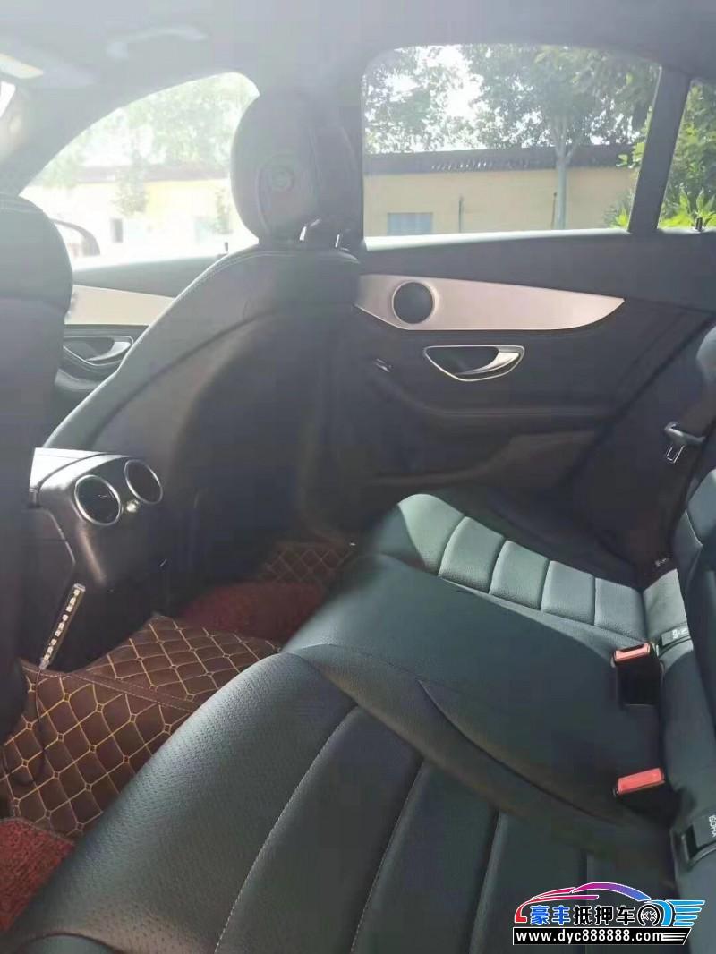 抵押车出售16年奔驰C轿车