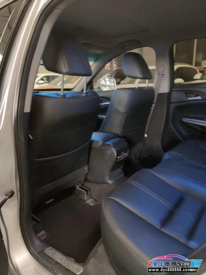 12年本田歌诗图轿车抵押车出售