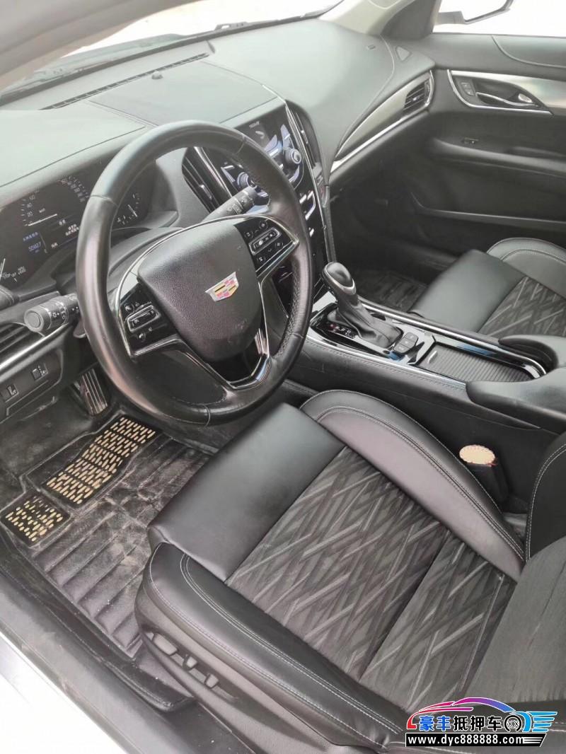16年凯迪拉克ATS-L轿车抵押车出售