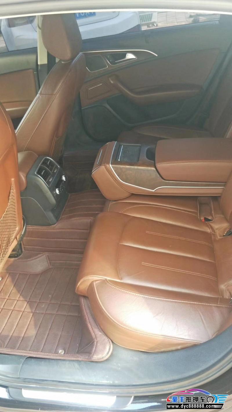 15年奥迪A6L轿车抵押车出售