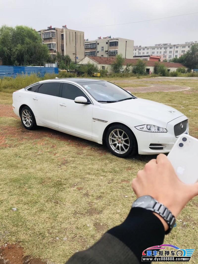 15年捷豹XJ轿车抵押车出售