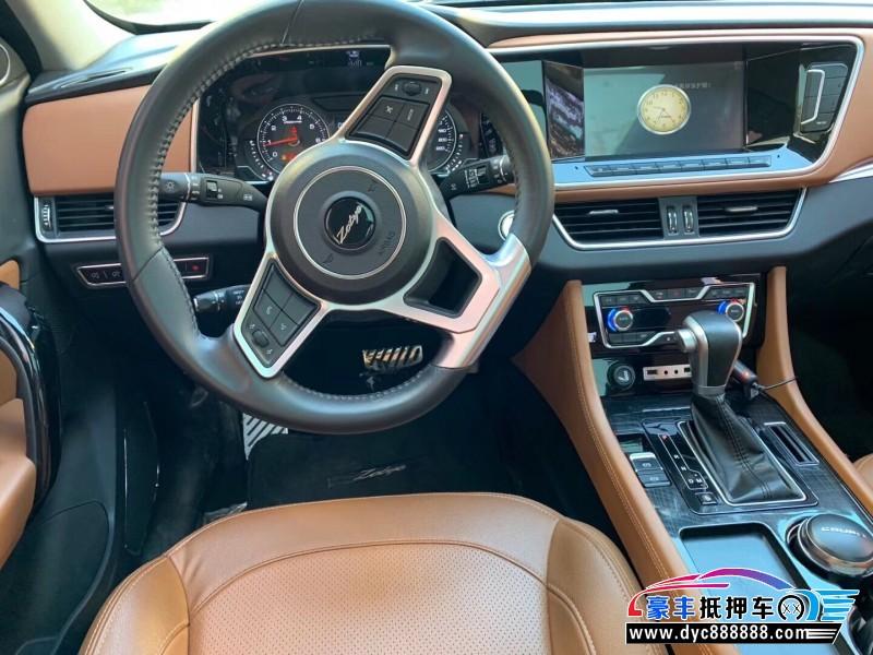 17年众泰T600 CoupeSUV抵押车出售