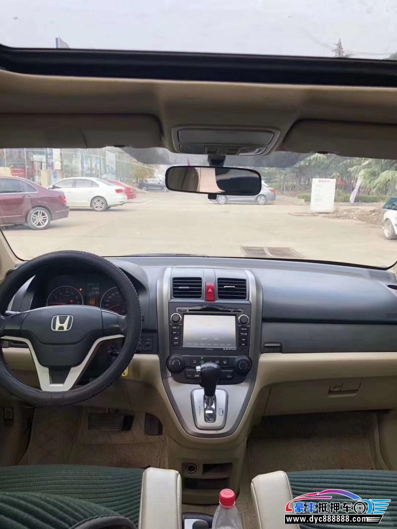 10年本田CR-VSUV抵押车出售
