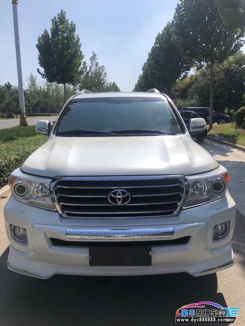14年丰田兰德酷路泽SUV抵押车出售