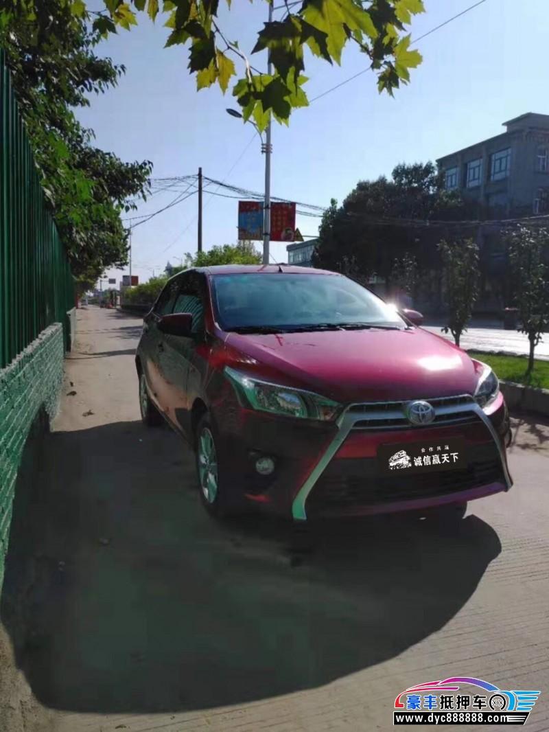 14年丰田YARiS L 致炫轿车抵押车出售