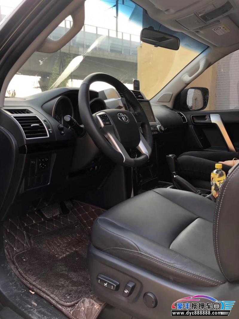17年丰田普拉多SUV抵押车出售