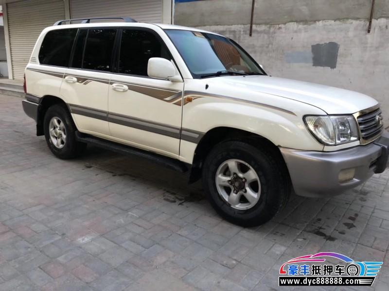 02年丰田兰德酷路泽SUV抵押车出售