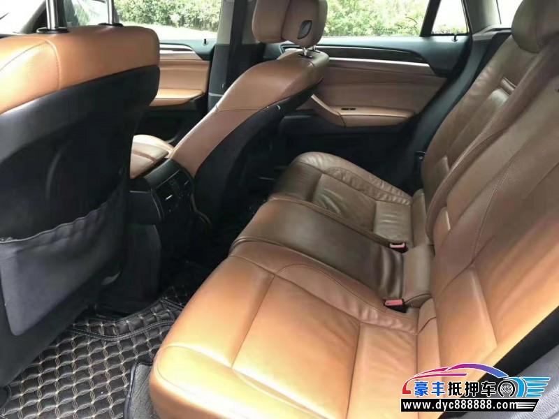 14年宝马X6SUV抵押车出售