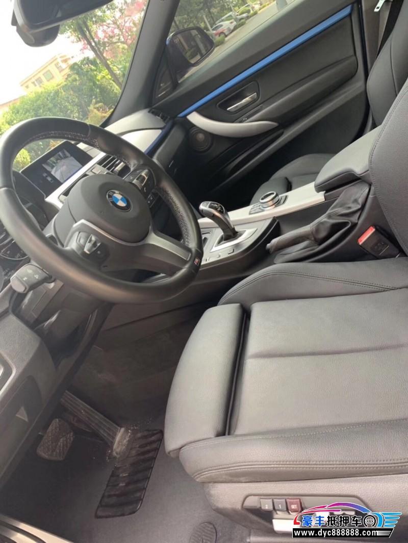 18年宝马3系GT轿车抵押车出售