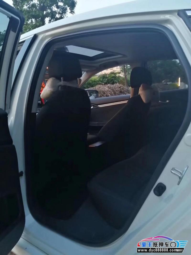 18年本田思域轿车抵押车出售