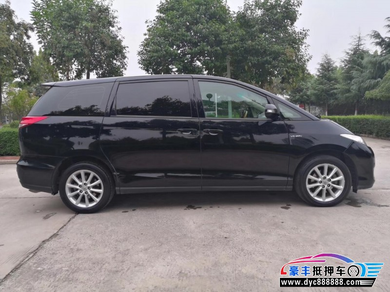 12年丰田普瑞维亚MPV抵押车出售