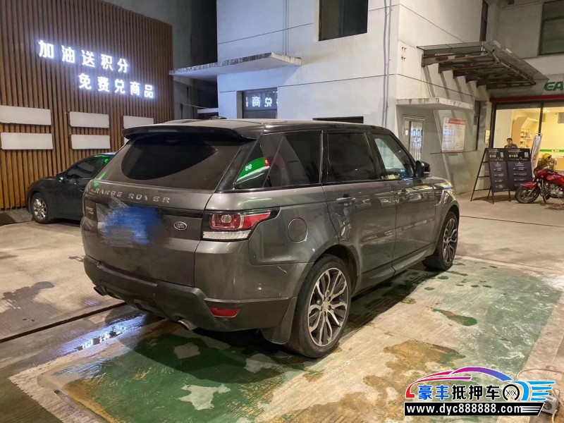 14年路虎揽胜运动版SUV抵押车出售