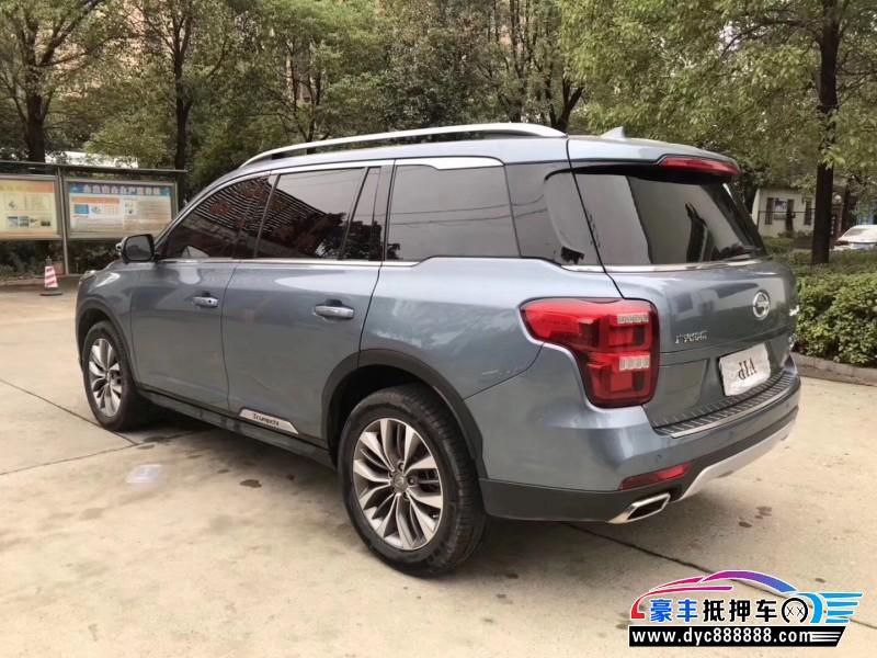 抵押车出售18年广汽传祺GS8SUV
