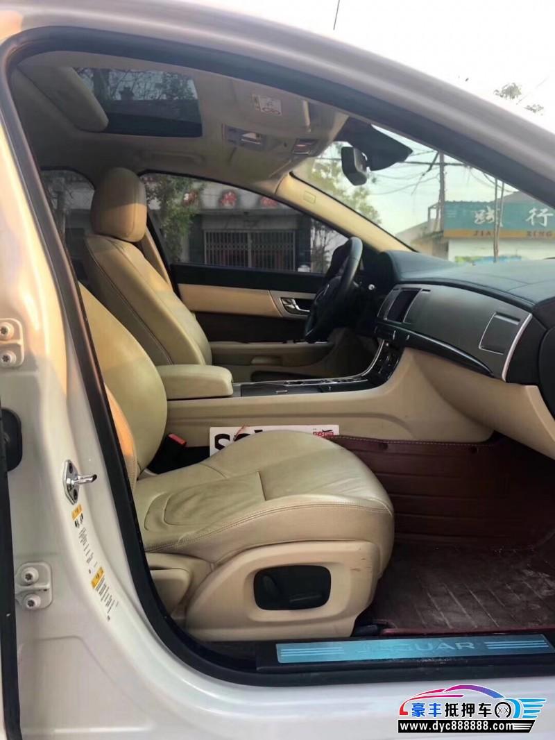 15年捷豹XF轿车抵押车出售