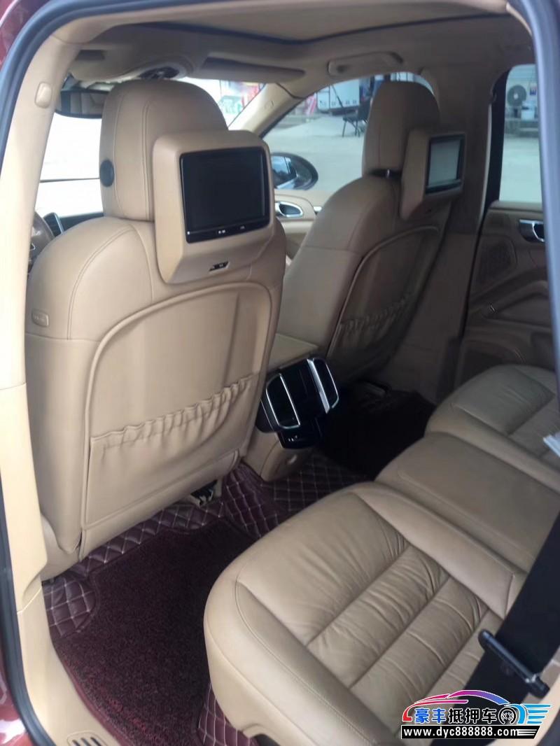 12年保时捷卡宴SUV抵押车出售