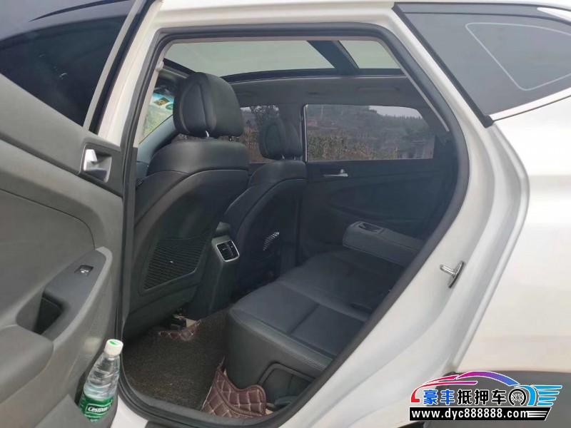 抵押车出售18年现代途胜SUV