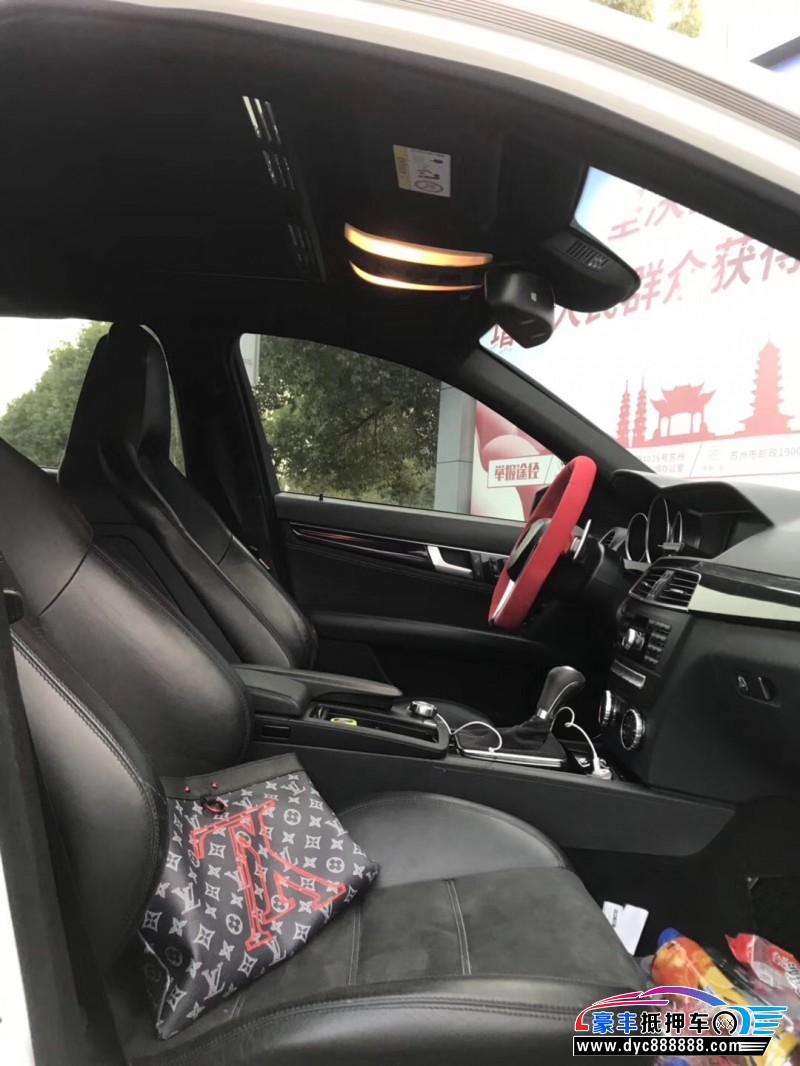 抵押车出售15年奔驰C级AMG轿车